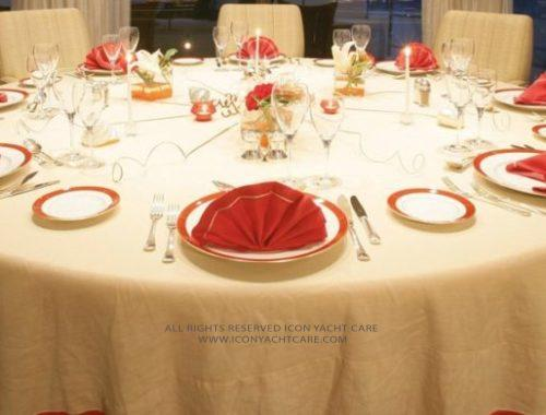 10. Table Cloths & Napkins Cleaning