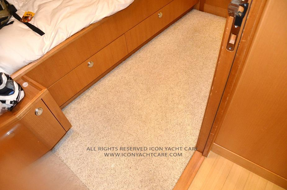 Yacht Carpet And Floor Runners Cleaning