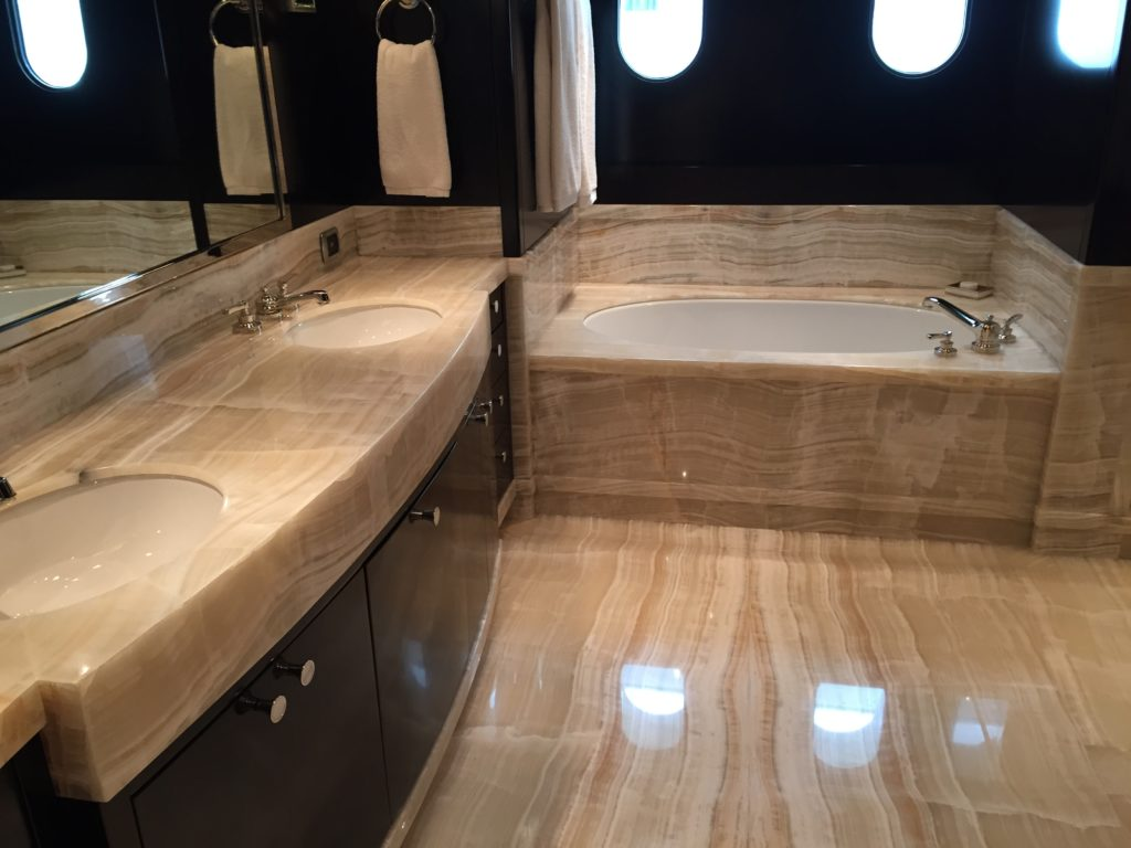 Yacht Interior Cleaning and Detailing