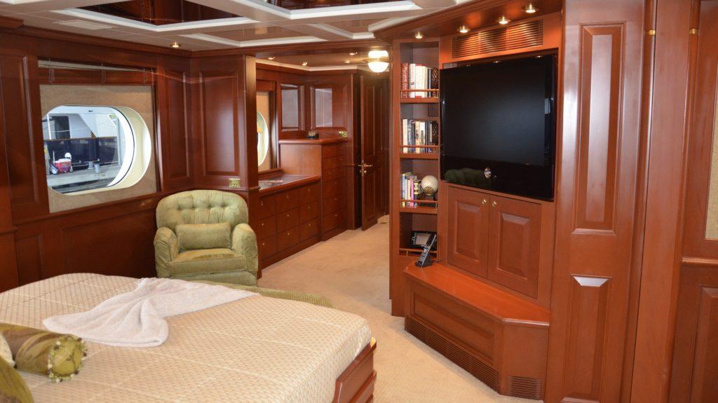 Yacht Wood Restoration and Refinishing