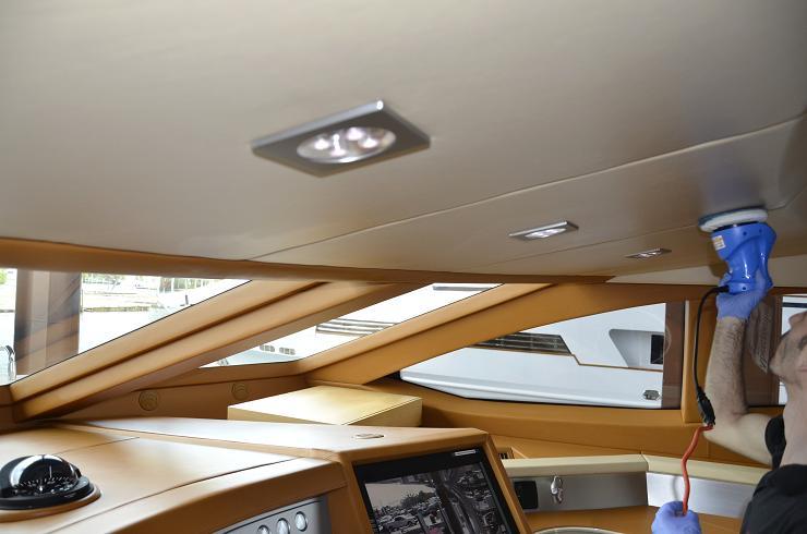 Yacht Water Damage and Flood Restoration